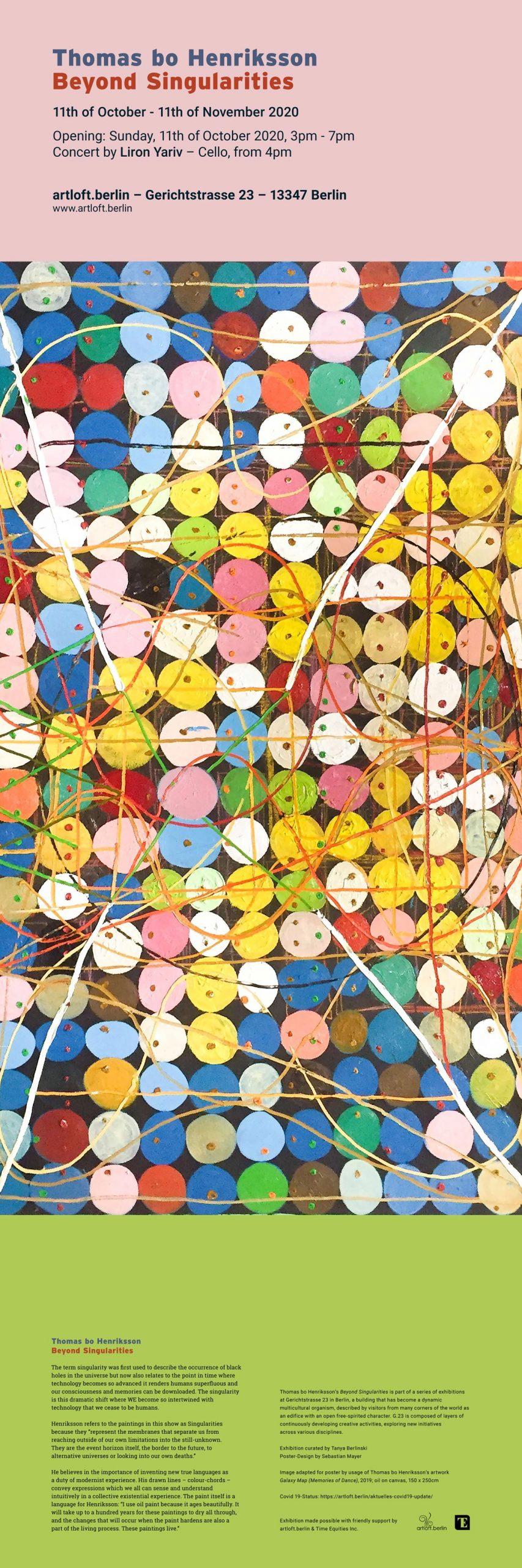 Thomas Bo Henriksson - Ausstellung im artloft.berlin